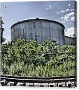 Industrial Tank Acrylic Print