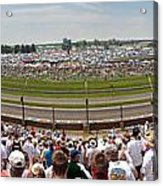 Indy 500  Race Day Acrylic Print
