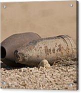 Inert Artillery Rounds Litter Camp Acrylic Print