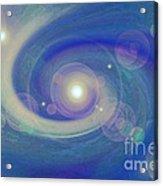 Infinity Blue Acrylic Print