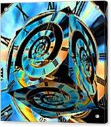 Infinity Time Cube Acrylic Print