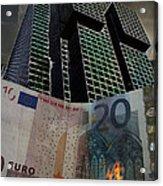 Inflation Acrylic Print