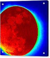 Infrared Super Moon 2012 Acrylic Print