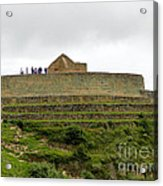 Ingapirca Inca Ruins   Ecuador Acrylic Print
