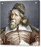 Inigo Jones, English Architect Acrylic Print by Sheila Terry