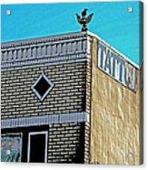 Inner City Acrylic Print