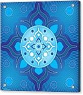 Inner Guidance - Blue Version Acrylic Print