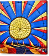 Inside A Hot Air Balloon Acrylic Print