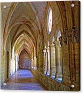 Inside A Monastery  Acrylic Print