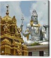 Inside Murudeshwara Temple 2 Acrylic Print