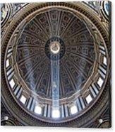 Inside St. Peter's Basicilia Acrylic Print