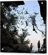 Inside The Bat Cave Acrylic Print