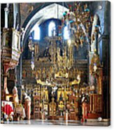 Inside The Church Acrylic Print