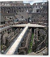 Inside The Colosseum Acrylic Print
