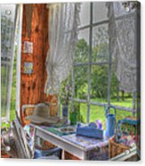 Inside The Cottage Acrylic Print