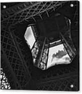 Inside The Eiffel Tower Acrylic Print