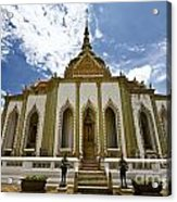 Inside The Grand Palace Bangkok Image 2 Acrylic Print