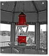 Inside The Lighthouse Tower #2. Uostadvaris. Lithuania. Acrylic Print