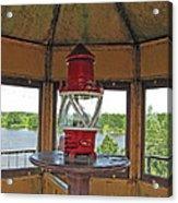 Inside The Lighthouse Tower #3. Uostadvaris. Lithuania. Acrylic Print