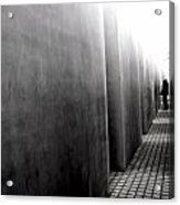 Inside The Memorial To The Murdered Jews Of Europe Acrylic Print