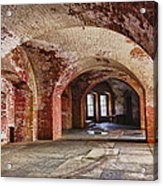 Inside The Walls Acrylic Print by Garry Gay