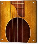 Instrument - Guitar - Let's Play Some Music  Acrylic Print