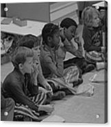 Integrated First Grade Class Of African Acrylic Print