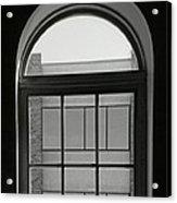 Interior - Windows In Black And White Acrylic Print