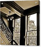 Interior Elegance Lost In Time Acrylic Print by DigiArt Diaries by Vicky B Fuller