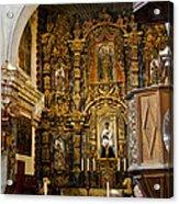 Interior San Xavier Mission Acrylic Print