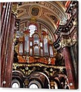 Interior St Stanislaus Church - Posnan Acrylic Print