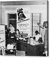 Interior View Of Naacp Branch Office Acrylic Print