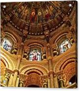 Interiors Of A Cathedral, St. Finbarrs Acrylic Print