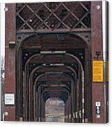 International Bridge 9671 Acrylic Print