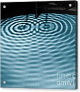 Intersecting Ripples Acrylic Print