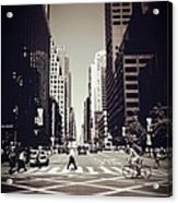 Intersection - New York City Acrylic Print