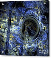 Into The Blue Abyss Acrylic Print