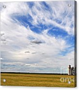 Into The Wide Open Acrylic Print