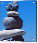 Inukshuk 1 By Jammer Acrylic Print