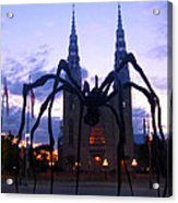 Invasion Of The Black Spider Acrylic Print