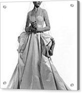 Invitation, Dorothy Mcguire, 1952 Acrylic Print by Everett