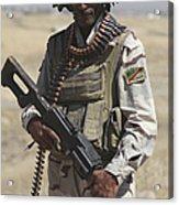 Iraqi Army Soldier Acrylic Print