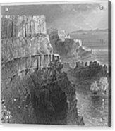 Ireland: Cliffs, C1840 Acrylic Print
