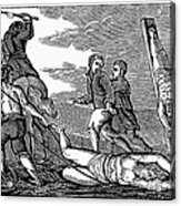 Ireland: Cruelties, C1600 Acrylic Print by Granger