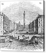 Ireland: Dublin, 1843 Acrylic Print