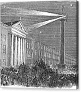 Ireland: Dublin, 1849 Acrylic Print
