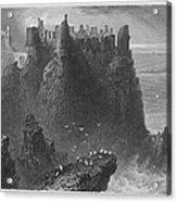 Ireland: Dunluce Castle Acrylic Print