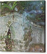 Ireland Ghostly Grave Acrylic Print by First Star Art