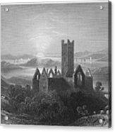 Ireland: Rosserk Abbey Acrylic Print