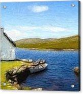 Irelands Beauty Acrylic Print